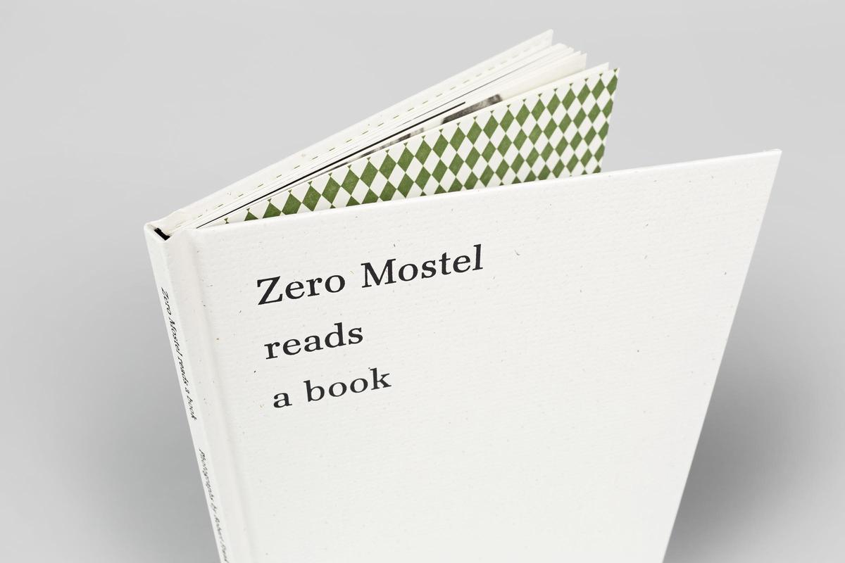 Zero Mostel Reads A Book Robert Frank Steidl Verlag