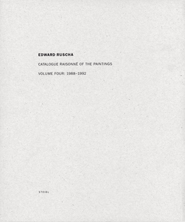 Catalogue Raisonné of the Paintings. Volume 4: 1988-1992