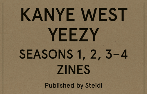 YEEZY Seasons 1, 2, 3–4 Zines. Boxed Set