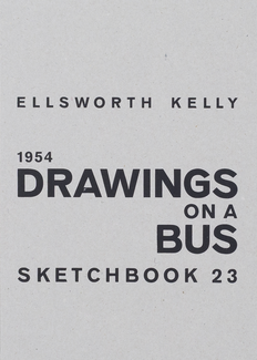 Drawings on a Bus. Sketchbook 23 1954